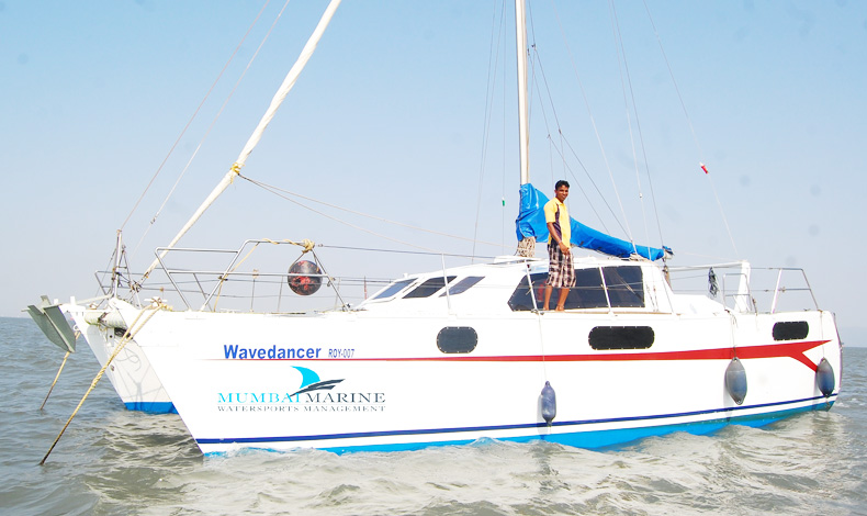 Wave Dancer Catamaran Yacht in Mumbai